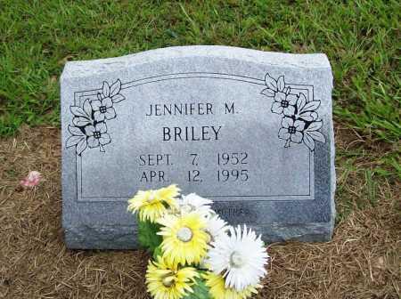 BRILEY, JENNIFER M. - Benton County, Arkansas | JENNIFER M. BRILEY - Arkansas Gravestone Photos
