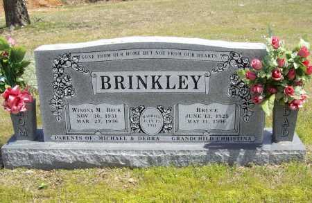 BECK BRINKLEY, WINONA M. - Benton County, Arkansas | WINONA M. BECK BRINKLEY - Arkansas Gravestone Photos