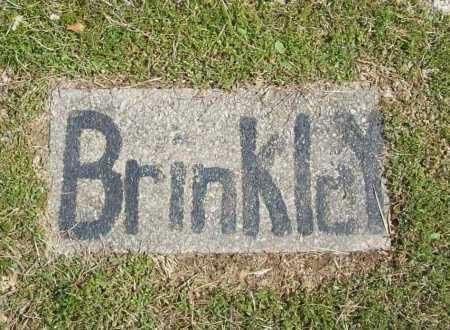 BRINKLEY, UNKNOWN - Benton County, Arkansas | UNKNOWN BRINKLEY - Arkansas Gravestone Photos