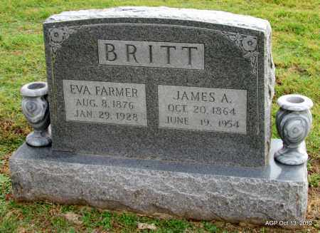 BRITT, EVA - Benton County, Arkansas | EVA BRITT - Arkansas Gravestone Photos