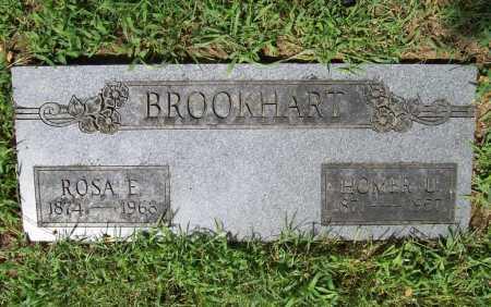 BROOKHART, HOMER U. - Benton County, Arkansas | HOMER U. BROOKHART - Arkansas Gravestone Photos