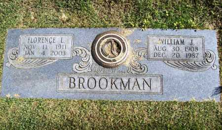 BROOKMAN, WILLIAM J. - Benton County, Arkansas | WILLIAM J. BROOKMAN - Arkansas Gravestone Photos