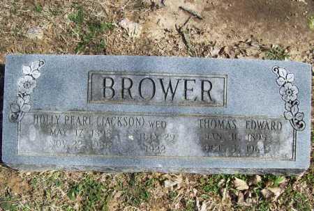 BROWER, THOMAS EDWARD - Benton County, Arkansas | THOMAS EDWARD BROWER - Arkansas Gravestone Photos