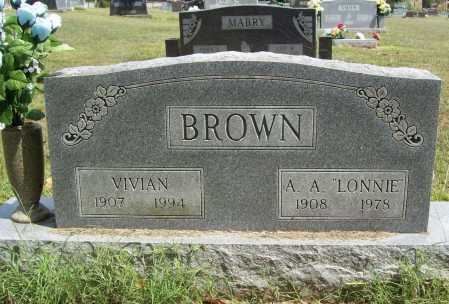 BROWN, VIVIAN - Benton County, Arkansas | VIVIAN BROWN - Arkansas Gravestone Photos