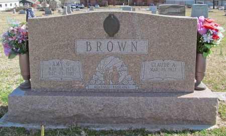 BROWN, AMY O. - Benton County, Arkansas | AMY O. BROWN - Arkansas Gravestone Photos