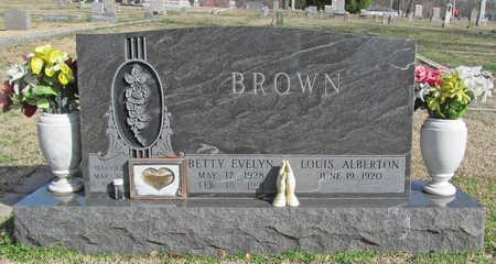 BROWN, BETTY EVELYN - Benton County, Arkansas | BETTY EVELYN BROWN - Arkansas Gravestone Photos