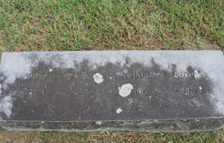 BROWN, CHARLIE L. - Benton County, Arkansas | CHARLIE L. BROWN - Arkansas Gravestone Photos