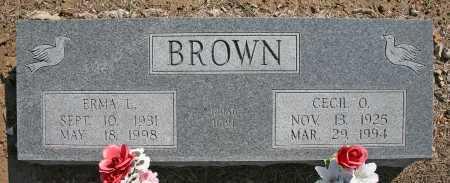 BROWN, CECIL O. - Benton County, Arkansas   CECIL O. BROWN - Arkansas Gravestone Photos