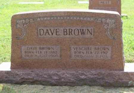 BROWN, DAVE - Benton County, Arkansas   DAVE BROWN - Arkansas Gravestone Photos