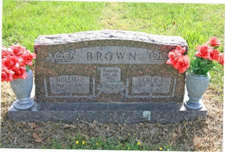 BROWN, MOLLIE E. - Benton County, Arkansas   MOLLIE E. BROWN - Arkansas Gravestone Photos