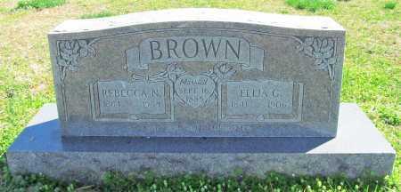 BROWN, REBECCA N. - Benton County, Arkansas | REBECCA N. BROWN - Arkansas Gravestone Photos
