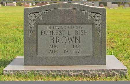BROWN, FORREST L - Benton County, Arkansas | FORREST L BROWN - Arkansas Gravestone Photos