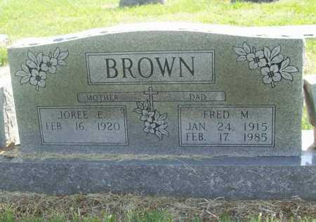 BROWN, FRED MONROE - Benton County, Arkansas   FRED MONROE BROWN - Arkansas Gravestone Photos