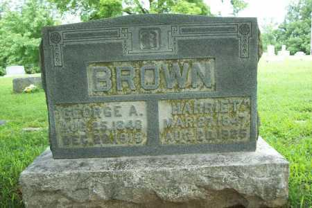 BROWN, GEORGE A. - Benton County, Arkansas   GEORGE A. BROWN - Arkansas Gravestone Photos