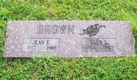 BROWN, JEAN E. - Benton County, Arkansas   JEAN E. BROWN - Arkansas Gravestone Photos