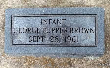 BROWN, GEORGE TUPPER - Benton County, Arkansas | GEORGE TUPPER BROWN - Arkansas Gravestone Photos