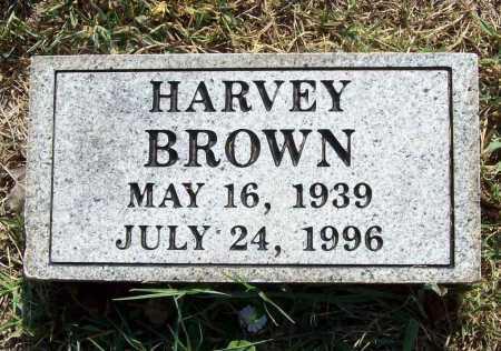 BROWN, HARVEY - Benton County, Arkansas | HARVEY BROWN - Arkansas Gravestone Photos