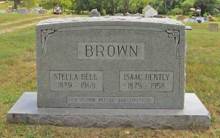 BROWN, STELLA BELL - Benton County, Arkansas | STELLA BELL BROWN - Arkansas Gravestone Photos