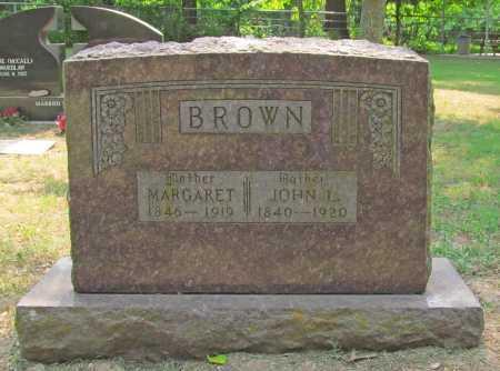 BROWN, MARGARET - Benton County, Arkansas | MARGARET BROWN - Arkansas Gravestone Photos
