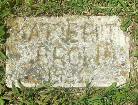 BROWN, KATIE RUTH - Benton County, Arkansas | KATIE RUTH BROWN - Arkansas Gravestone Photos
