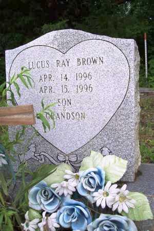BROWN, LUCAS RAY - Benton County, Arkansas | LUCAS RAY BROWN - Arkansas Gravestone Photos