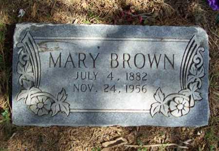 BROWN, MARY - Benton County, Arkansas | MARY BROWN - Arkansas Gravestone Photos
