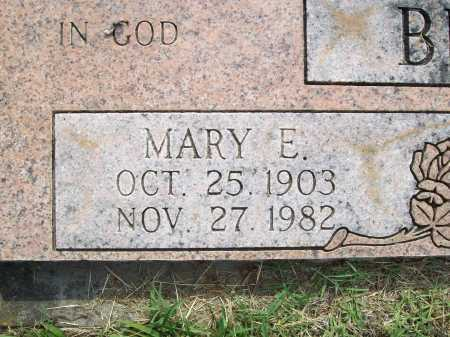 BROWN, MARY E. (CLOSEUP) - Benton County, Arkansas | MARY E. (CLOSEUP) BROWN - Arkansas Gravestone Photos