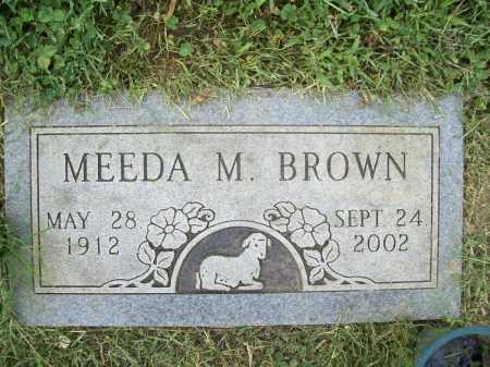 BROWN, MEEDA M. - Benton County, Arkansas | MEEDA M. BROWN - Arkansas Gravestone Photos