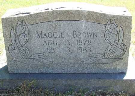 BROWN, MAGGIE - Benton County, Arkansas | MAGGIE BROWN - Arkansas Gravestone Photos