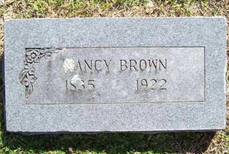 BROWN, NANCY - Benton County, Arkansas | NANCY BROWN - Arkansas Gravestone Photos