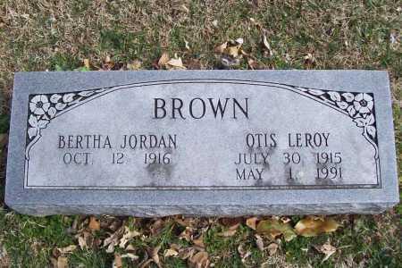 """BROWN (VETERAN WWII), OTIS LEROY """"PETE"""" - Benton County, Arkansas   OTIS LEROY """"PETE"""" BROWN (VETERAN WWII) - Arkansas Gravestone Photos"""
