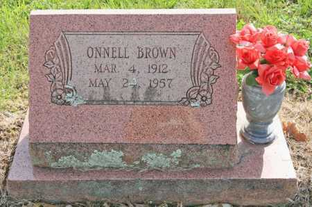 BROWN, ONNELL - Benton County, Arkansas   ONNELL BROWN - Arkansas Gravestone Photos