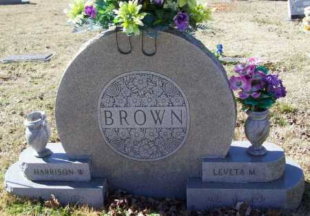 BROWN, HARRISON WILLIAM - Benton County, Arkansas | HARRISON WILLIAM BROWN - Arkansas Gravestone Photos