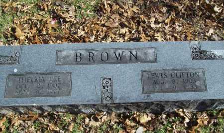 BROWN, LEWIS CLIFTON - Benton County, Arkansas   LEWIS CLIFTON BROWN - Arkansas Gravestone Photos