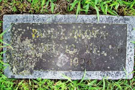 BROWN, PAUL L. - Benton County, Arkansas | PAUL L. BROWN - Arkansas Gravestone Photos