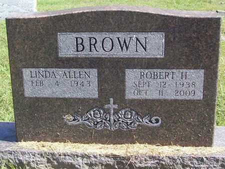 BROWN, ROBERT HAROLD - Benton County, Arkansas | ROBERT HAROLD BROWN - Arkansas Gravestone Photos