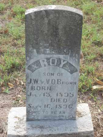 BROWN, ROY - Benton County, Arkansas | ROY BROWN - Arkansas Gravestone Photos