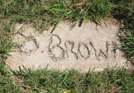 BROWN, S. - Benton County, Arkansas | S. BROWN - Arkansas Gravestone Photos