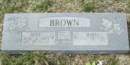 BROWN, SUSIE - Benton County, Arkansas | SUSIE BROWN - Arkansas Gravestone Photos