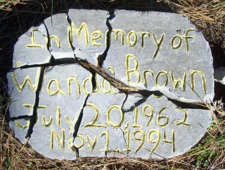 BROWN, WANDA - Benton County, Arkansas   WANDA BROWN - Arkansas Gravestone Photos