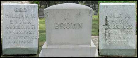 BROWN, WILLIAM W. - Benton County, Arkansas | WILLIAM W. BROWN - Arkansas Gravestone Photos