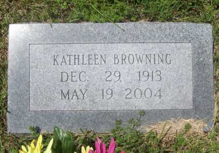BROWNING, KATHLEEN - Benton County, Arkansas   KATHLEEN BROWNING - Arkansas Gravestone Photos