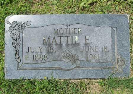 BROWNING, MATTIE E. - Benton County, Arkansas | MATTIE E. BROWNING - Arkansas Gravestone Photos