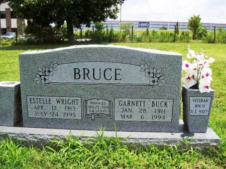 WRIGHT BRUCE, ESTELLE - Benton County, Arkansas | ESTELLE WRIGHT BRUCE - Arkansas Gravestone Photos