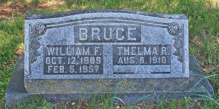 BRUCE, WILLIAM F - Benton County, Arkansas   WILLIAM F BRUCE - Arkansas Gravestone Photos