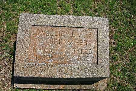 BRUNSCHER, NELLIE L. - Benton County, Arkansas | NELLIE L. BRUNSCHER - Arkansas Gravestone Photos