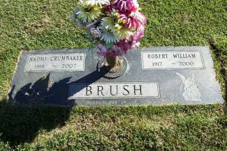 BRUSH, ROBERT WILLIAM - Benton County, Arkansas | ROBERT WILLIAM BRUSH - Arkansas Gravestone Photos