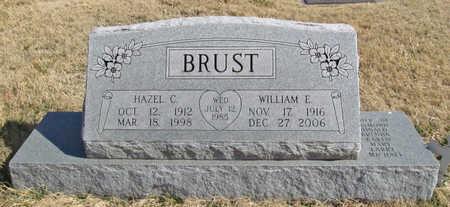 BRUST, HAZEL C - Benton County, Arkansas | HAZEL C BRUST - Arkansas Gravestone Photos