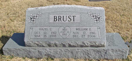 BRUST, WILLIAM E - Benton County, Arkansas | WILLIAM E BRUST - Arkansas Gravestone Photos