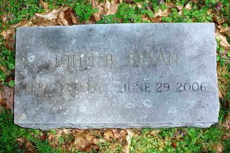 BRYAN, JOHN B. - Benton County, Arkansas   JOHN B. BRYAN - Arkansas Gravestone Photos